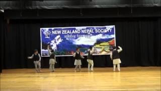 Yo Nani ko sirai ma - Boys Group Dance- Nepalese New Year 2072 - New Zealand Nepal Society Inc.