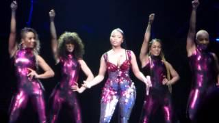 Nicki Minaj - Super Bass - The Pink Print Tour - Stockholm 16/3-2015