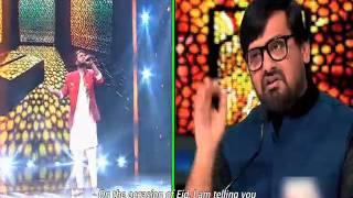 Sachin's Soulful Performance - Sa Re Ga Ma Pa 2016