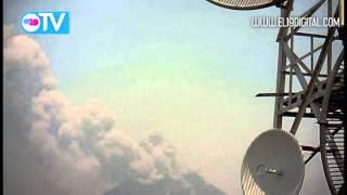 Volcán San Cristóbal registra explosión