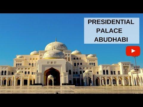 PRESIDENTIAL PALACE ABUDHABI QASR AL WATAN MORE THAN JUST A PALACE