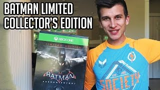 Batman Arkham Knight Limited Edition Unboxing!! Collector's Edition Review!!