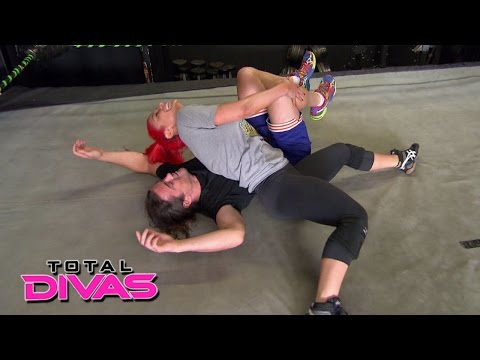 Xxx Mp4 Eva Marie Hits A Milestone In Her Training With Brian Kendrick Total Divas August 18 2015 3gp Sex
