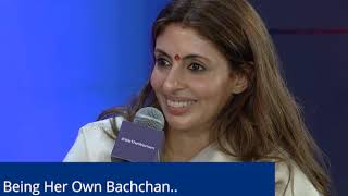 Being Her Own Bachchan: Shweta Bachchan Nanda talks to Barkha Dutt