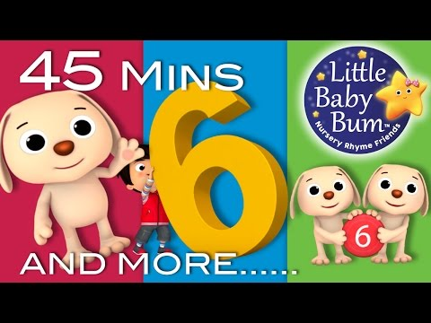 Xxx Mp4 Number 6 Song Plus Lots More Nursery Rhymes 45 Minutes Compilation From Little Baby Bum 3gp Sex