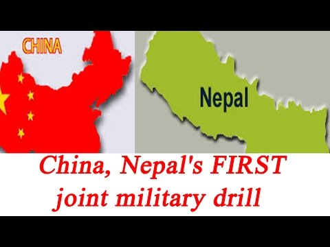 watch China, Nepal to hold first ever joint military drill in 2017 | Oneindia News