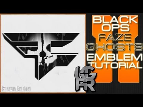 COD Ghosts Custom Faze Clan Logo : Call of Duty Black Ops 2 Emblem Tutorial video (16 minutes 58 seconds ) download watch youtub