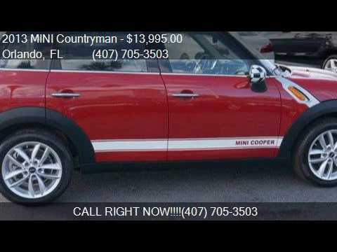 2013 MINI Countryman Cooper 4dr Crossover for sale in Orland