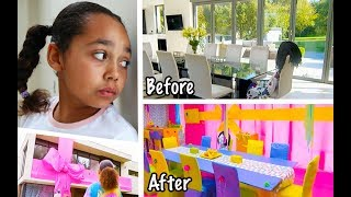 TIANA'S BEST PRANK EVER ON MOM AND DAD'S HOUSE!!