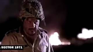 Fight between Major Shabeer Shareef & Major Narian Singh