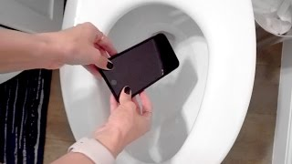 📲🚽 DROPPED MY PHONE IN THE TOILET