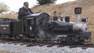 "15"" gauge live steam Shay at Hillcrest & Wahtoke Railroad"
