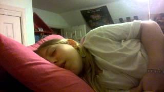 sister sleep talking