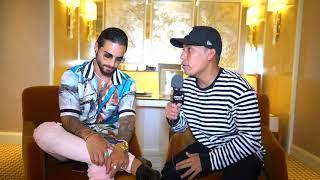 Maluma fue entrevistado por Kevin McCallister previo a los Latín Billboard 2018