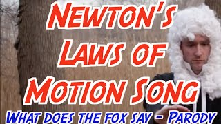 What's Newton's Laws say? (What does a fox say)