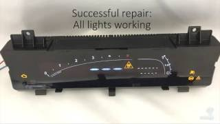 Citroen C6 Instrument Cluster Speedometer Repair