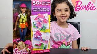 ألعاب بنات باربي تبني بيت أحلامها - Barbie Builder