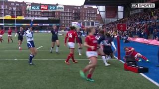 Highlights: Wales Women 0 England Women 63