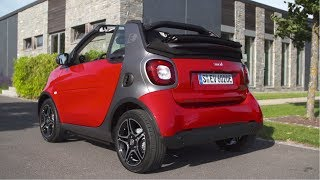 2017 Smart Fortwo Cabrio Electric Drive - Red