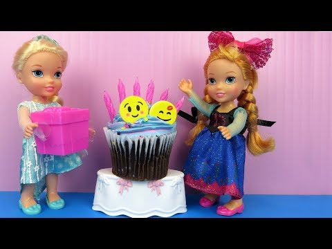 Anna s BIRTHDAY party Elsa and Anna toddlers party with guests Pinata Cake Gifts Games