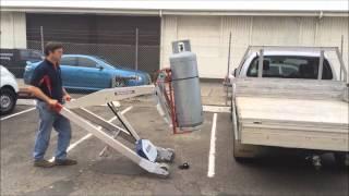 MAKINEX® Powered Hand Truck PHT140 Strap-Frame Module v5