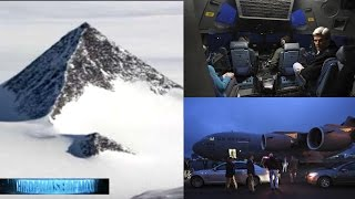 HOLD ON!! Secretary Of State Visits Alien UFO BASE Antarctic Pyramid!? Secret Agenda! 11/11/2016