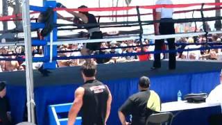 Steven Fernandez 1st Fight  1st Rnd. Con.