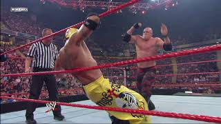 Rey Mysterio vs. Kane - No Disqualification Match: Raw, Nov. 10, 2008