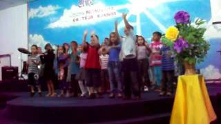 Dança do Pinguim - Aline Barros & Cia 2