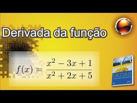 (p.119 Ex26) Derivada de f(x)=(x²-3x+1)/(x²+2x+5)