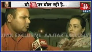 Honeypreet Insan's Exclusive Interview With Aaj Tak