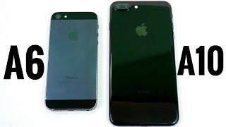 iPhone 5 vs iPhone 7 Plus? (A6 vs A10)