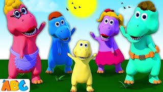 DINOSAURS SONG 3D Nursery Rhymes Songs For Kids By All Babies Channel | Baby Songs