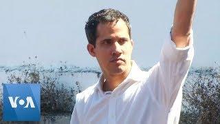 Trump Recognizes Opposition Leader Juan Guaido as Interim President of Venezuela