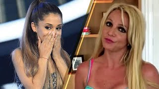 OOPS! Britney Spears MISTAKES Selena Gomez for Ariana Grande