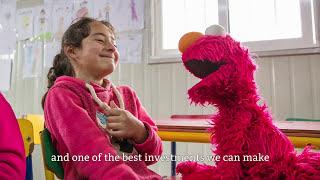 Sesame Street and IRC: Kofi Annan Testimonial (English Subtitles)