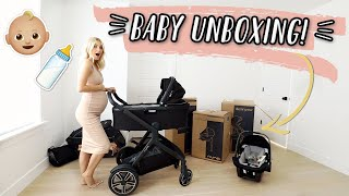 UNBOXING NEW BABY ITEMS!