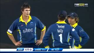 38 runs in 1 over. The worst bowler ever