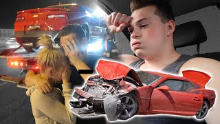 WHAT HAPPENED AFTER MY CAR CRASH...