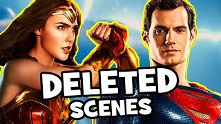 Justice League DELETED SCENES & Missing Characters Explained (Why We Need An Extended Edition!)