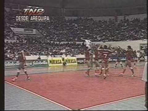 BRASIL VS PERU PREMUNDIAL DE VOLEY 1997