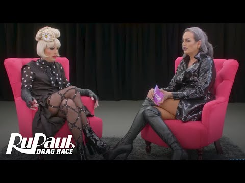 Xxx Mp4 The Pit Stop W Raja Katya RuPaul's Drag Race Season 9 Ep 2 Logo Now On VH1 3gp Sex