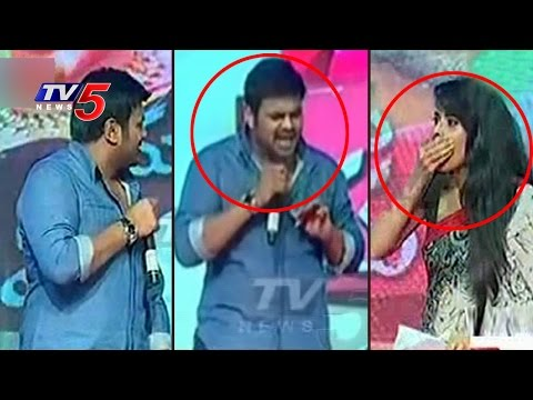 Manchu Manoj Warns Anchor ANASUYA On Stage | Mama Manchu Alludu Kanchu | TV5 News