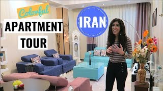 Small Apartment Tour - Colorful One Bedroom in Tehran, Iran