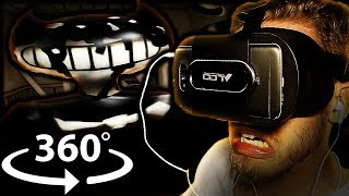 Vapor Reacts #391 | BENDY AND THE INK MACHINE 360 VR