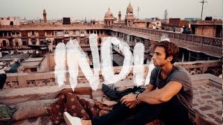 Falcon attacks our drone! - India vlog #2
