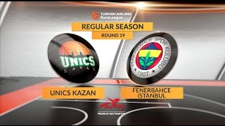 Highlights: Unics Kazan-Fenerbahce Istanbul