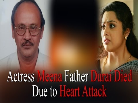 Actress Meena's Father Durai Died Due to Heart Attack | RedPix 24x7