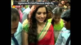 Telugu TV Anchor Rashmi halchal in Nellore