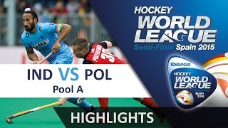 India v Poland Match Highlights - Antwerp Men